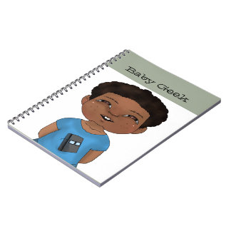Baby Geek (Boy) Spiral Notebooks