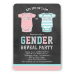 Baby Gender Reveal Party | Team Pink or Blue