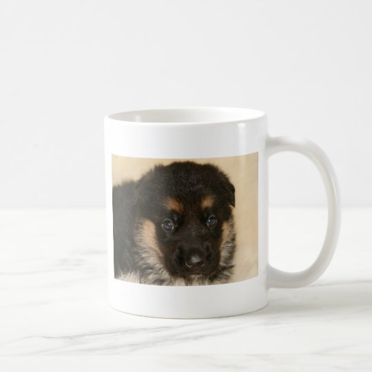 "Baby German Shepherd Puppy ""Khloe"" Coffee Mug"