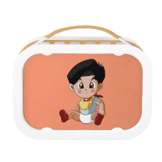 Baby Ghenny Orange Lunch Box