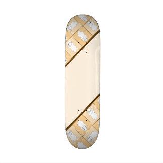 Baby Ghost Playing Pattern Skateboard Decks