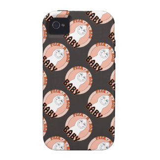 Baby Ghost Playing With Peek A Boo Saying Vibe iPhone 4 Case