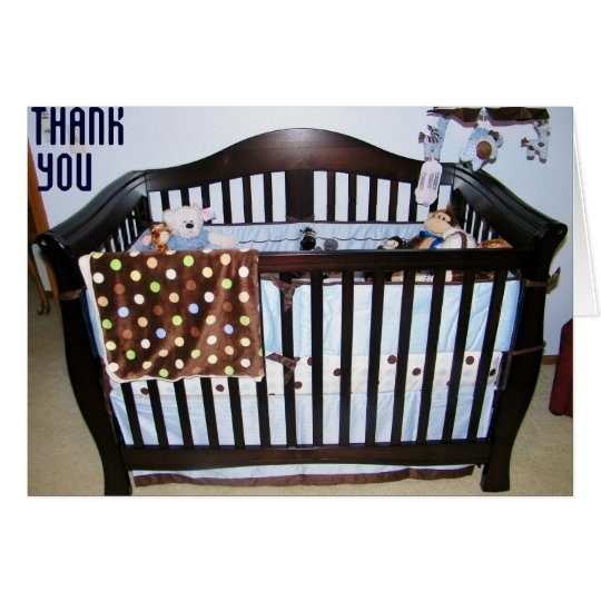 BABY GIFT THANK, YOU CARD