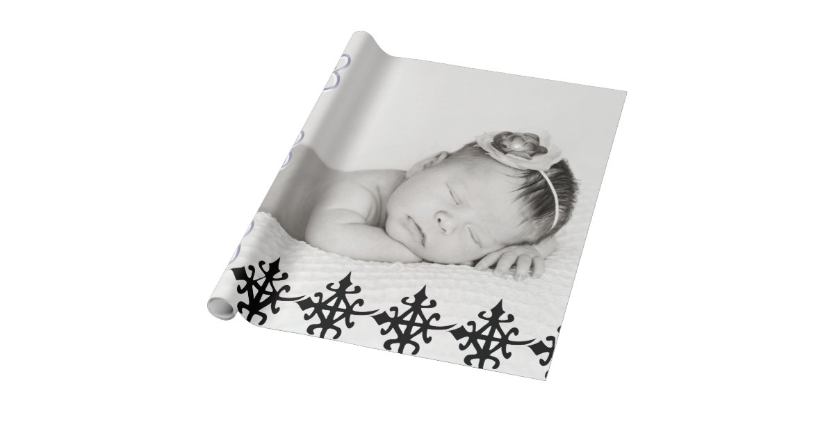 Gift Wrapped Baby Gifts Uk : Baby gift wrapping paper rolls with africa symbol zazzle