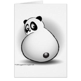 Baby gigglePanda Greeting Card
