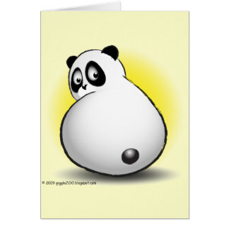 Baby gigglePanda Card
