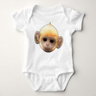 Baby Ginger Monkey Baby Bodysuit
