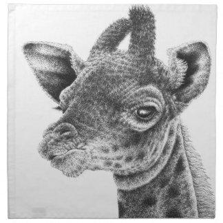 Baby Giraffe American MoJo Napkins