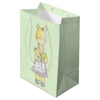 Baby Giraffe And Mother Gift Bag
