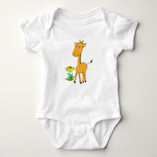 Baby Giraffe Baby Bodysuit
