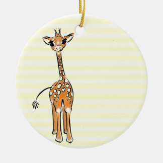 Baby Giraffe Christmas Ornament