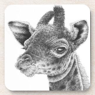 Baby Giraffe Cork Coaster