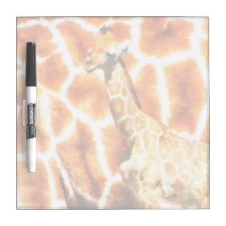 Baby Giraffe Dry Erase Board
