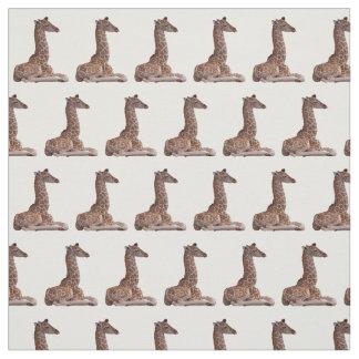 Baby Giraffe Fabric (choose colour)