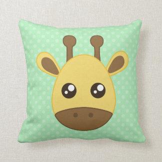 Baby Giraffe Face Cushion