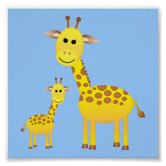Baby Giraffe/ Nursery Decor