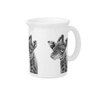 Baby Giraffe Pitchers