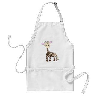Baby Giraffe Standard Apron