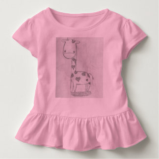 Baby Giraffe Toddler T-Shirt
