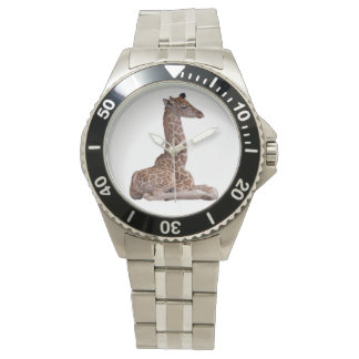 Baby Giraffe Watch (White)