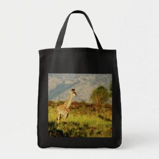 Baby giraffe wildlife bags