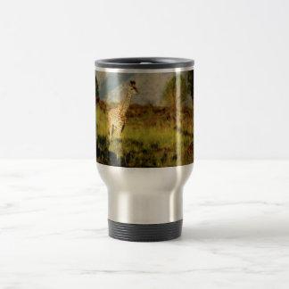 Baby Giraffe wildlife mugs cups