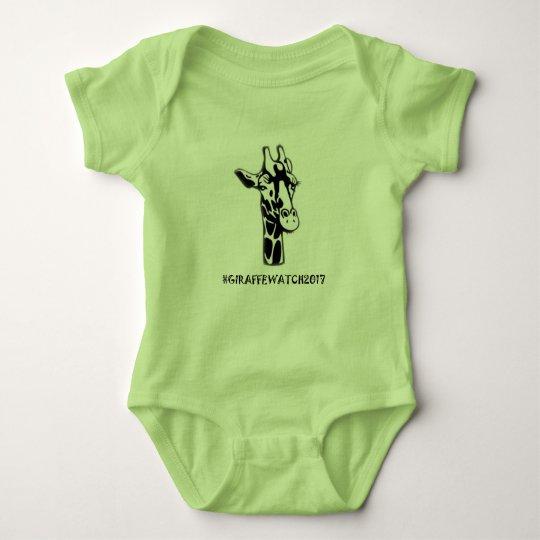 Baby #GiraffeWatch2017 Onsie Baby Bodysuit
