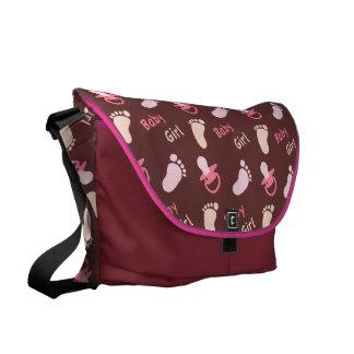 Baby Girl - Baby Shower Messenger Bag