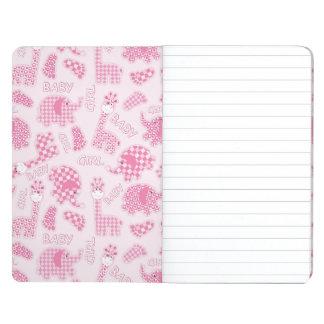 baby girl background journals