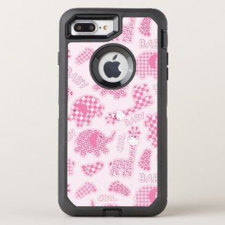 baby girl background OtterBox defender iPhone 8 plus/7 plus case