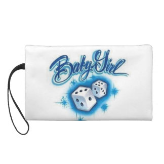 baby girl Bagettes Bag Wristlet Clutches