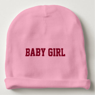 Baby Girl Beanie with Personalized Lettered Name Baby Beanie