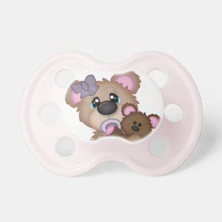 Baby Girl Bear Pacifier