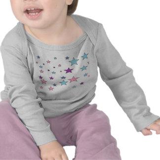Baby Girl Bodysuit Stars