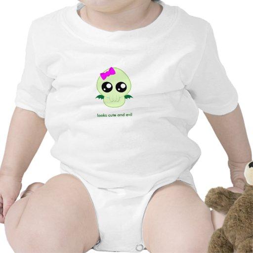 Baby Girl Cthulhu Tshirt