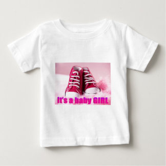 Baby girl cute baby shoes baby T-Shirt