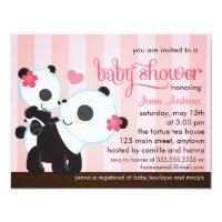 Baby Girl Cute Panda Baby Shower