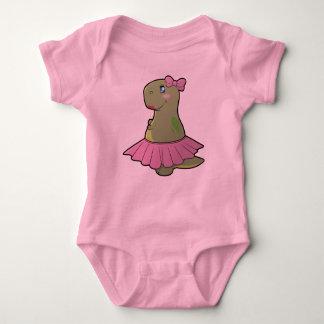Baby Girl Dinosaur T-Rex Bodysuit
