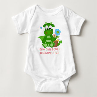baby girl dragon fantasy bodysuit