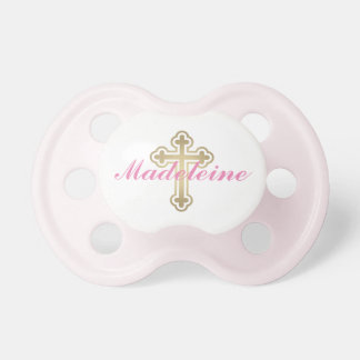 Baby Girl First Name   Gold Cross Dummy