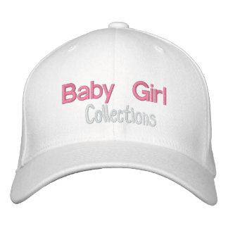 Baby Girl Fitted hat Embroidered Cap