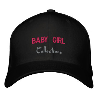 Baby Girl fitted hats Embroidered Hats