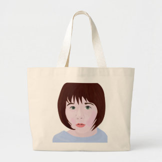 Baby Girl Jumbo Tote Bag
