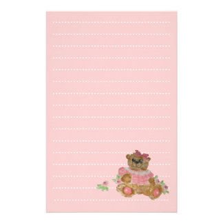 baby girl list planner stationery