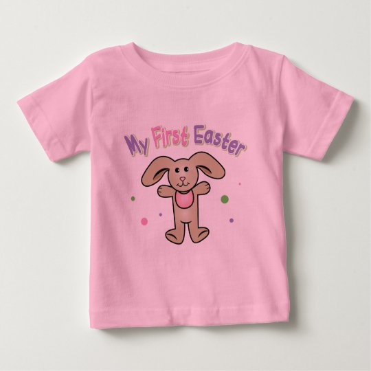 Baby Girl My First Easter Baby T-Shirt