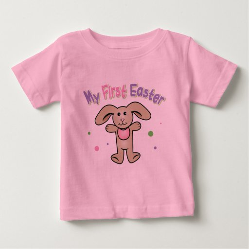 Baby Girl My First Easter Shirt