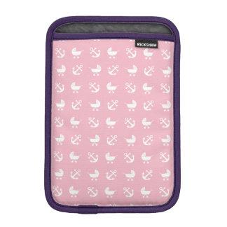 Baby girl nautical pattern iPad mini sleeve