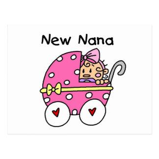 Baby Girl New Nana T-shirts and Gifts Postcard