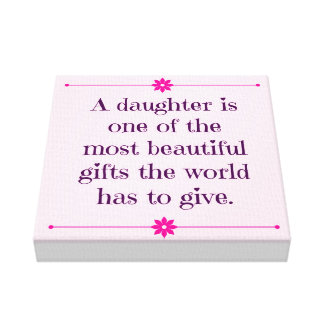 Baby Girl Nursery Canvas Art Quote Baby Girl Quote Gallery Wrap Canvas
