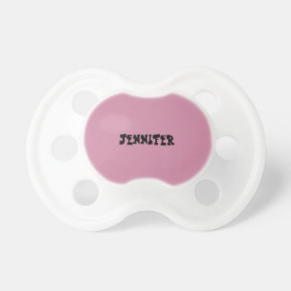 Baby Girl Personalized Pacifier